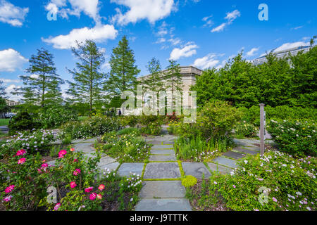 ... The United States Botanic Garden In Washington, DC.   Stock Photo