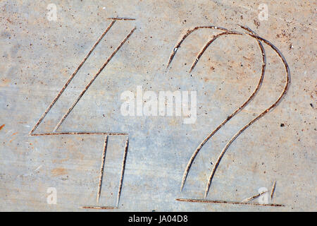 stone, five, marble, three, number, cipher, backdrop, background, stone, four, - Stock Photo