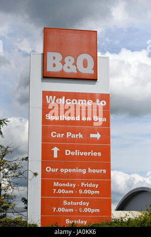 b q diy store sign and logo in halesowen west midlands b. Black Bedroom Furniture Sets. Home Design Ideas