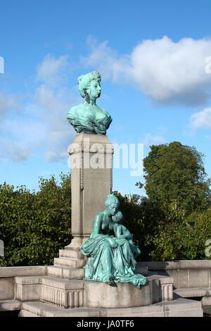 monument princess marie of denmark - Stock Photo