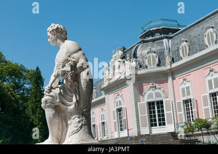 statue, baroque, germany, german federal republic, style of construction, - Stock Photo