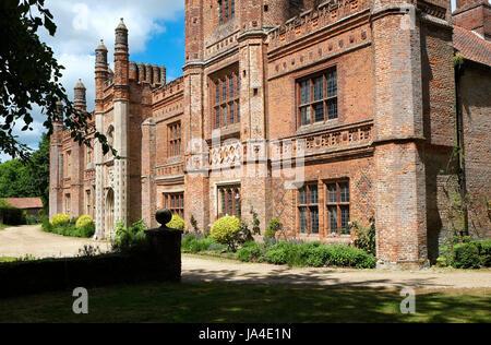 east barsham manor, north norfolk, england - Stock Photo