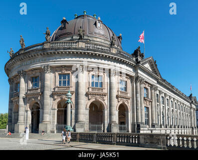 The Bode Museum on Museum Island (Museuminsel), Berlin, Germany - Stock Photo