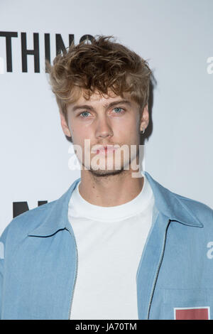Los Angeles,USA. 23rd Aug,2017. Neels Visser attends 'Secret Party' launch TINGS London Magazine Nightingale August - Stock Photo