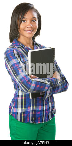 education, black, swarthy, jetblack, deep black, African, determined, cut out, - Stock Photo
