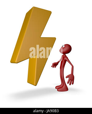 sign, signal, electric, doll, design, shaping, formation, shape, model, figure, - Stock Photo
