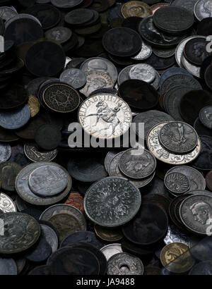 bank, lending institution, pay, macro, close-up, macro admission, close up - Stock Photo