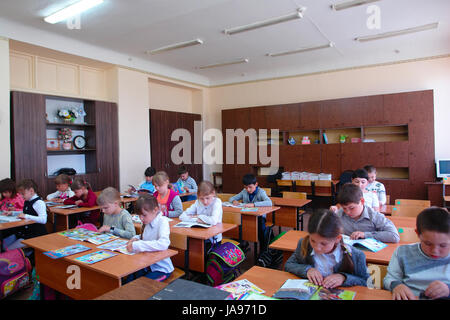 Students in the lesson in class - Stock Photo