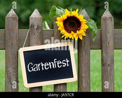 garden party - Stock Photo