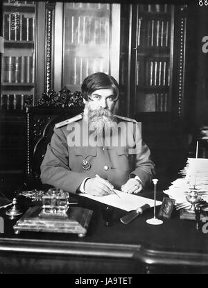 VLADIMIR BEKHTEREV  (1857-1927) Russian neurologist about 1913. Photo: Karl Bulla - Stock Photo