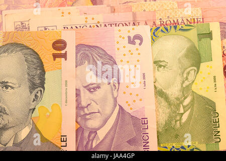 1 Romanian Leu Bank Note Lei Is The National Currency Of Romania