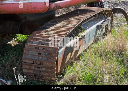 Crawler Track - Stock Photo