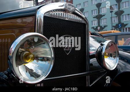 Historic Vehicle Parade in Bytom - Stock Photo