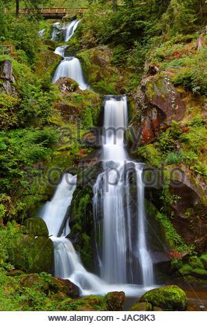 triberg waterfalls - Stock Photo
