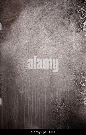 Rough textured blank silver metal grunge background - Stock Photo