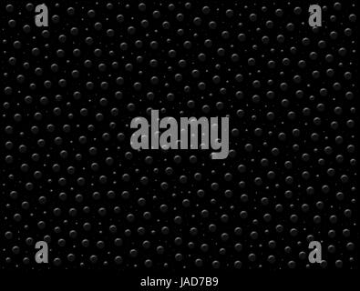 Black dotted surface texture background - Stock Photo