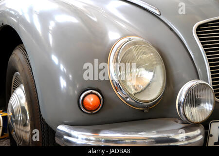 oldtimer in the museum - Stock Photo