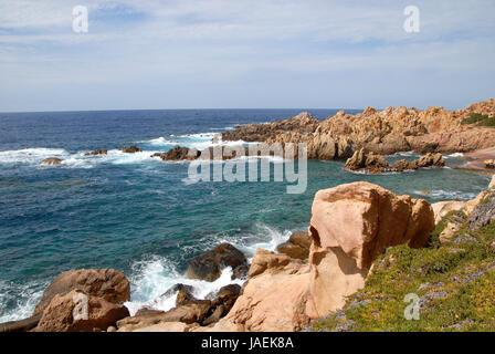 li cossi on the costa paradiso - Stock Photo
