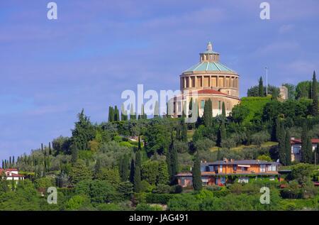 Verona Santuario della Madonna di Lourdes 02 - Stock Photo