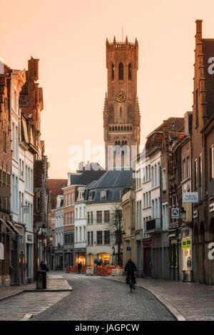 Bruges, West Flanders, Belgium - Stock Photo