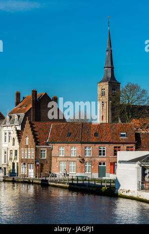 Bruges, West Flanders, Belgium - Stock Photo