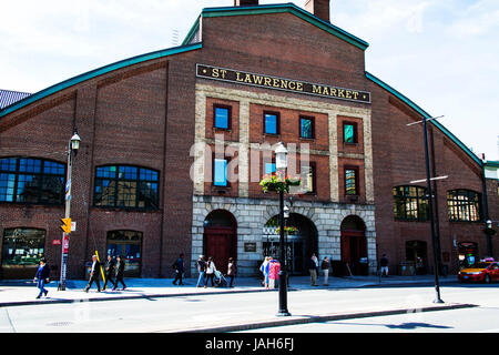 St. Lawrence Market building Toronto Ontario Canada - Stock Photo