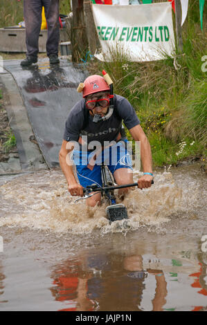 Mountain Bike Bog Snorkelling Championships Llanwrtyd Wells