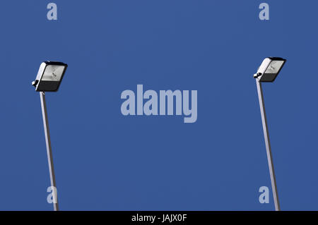 Conception,outside headlights for advertisement poster, - Stock Photo