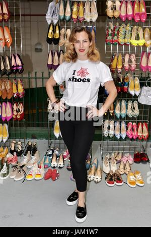 #SheinspiresMe Fashion Car Boot in support of Women for Women International  Featuring: Charlotte Olympia Where: - Stock Photo