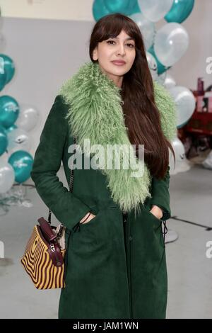 #SheinspiresMe Fashion Car Boot in support of Women for Women International  Featuring: Zara Martin Where: London, - Stock Photo