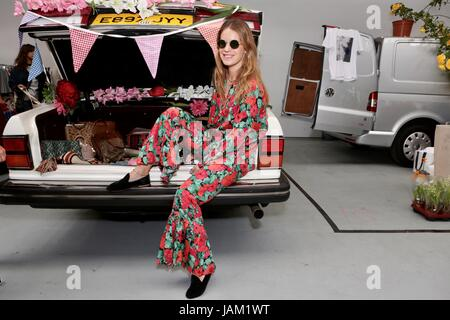 #SheinspiresMe Fashion Car Boot in support of Women for Women International  Featuring: Eugenie Niarchos Where: - Stock Photo