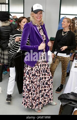 #SheinspiresMe Fashion Car Boot in support of Women for Women International  Featuring: Guest Where: London, United - Stock Photo