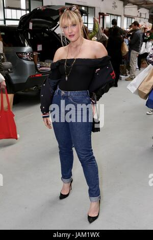 #SheinspiresMe Fashion Car Boot in support of Women for Women International  Featuring: Camilla Kerslake Where: - Stock Photo