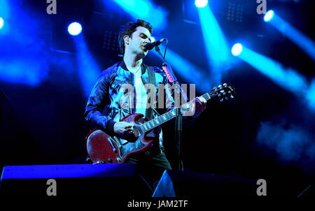 Kelly Jones with Stereophonics at Isle of Wight Festival June 10 2016, Newport IOW - Stock Photo
