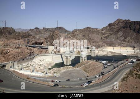 Street at Hoover Dam, Nevada Stock Photo: 90832406 - Alamy