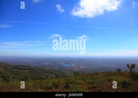 view from the top of picota - Stock Photo