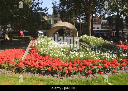 War Memorial Islington Green London - Stock Photo