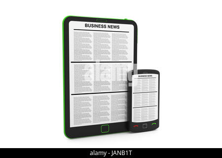 Digital news - Stock Photo