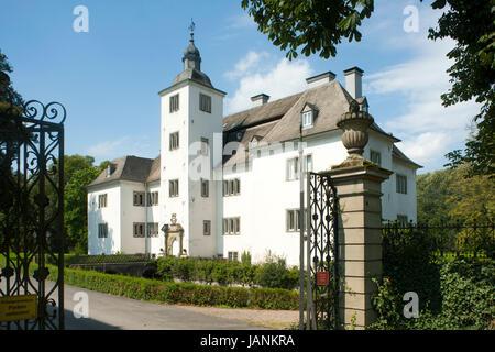BRD, Nordrhein-Westfalen, Hochsauerlandkreis, Meschede, Schloss Laer, Blick aus östlicher Richtung - Stock Photo