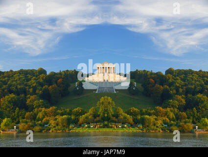 temple germany - Stock Photo