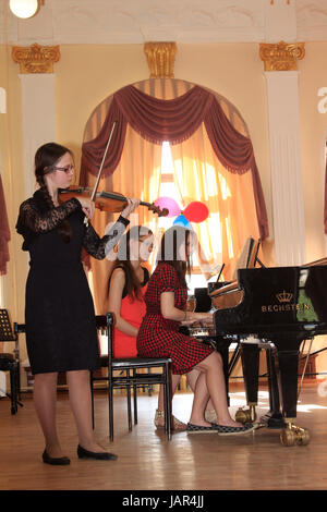 Europa, Russland, Republik Tatarstan, Kasan, Musik-Konservatorium - Stock Photo