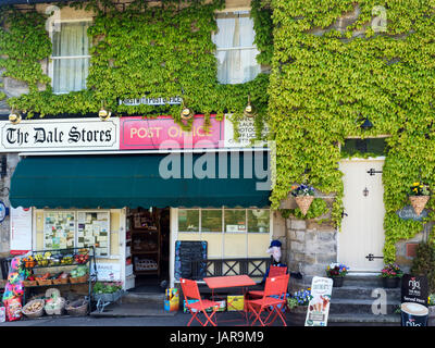 Village Post Office and Stores at Birstwith North Yorkshire England - Stock Photo