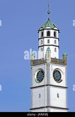 blaserturm in ravensburg - Stock Photo