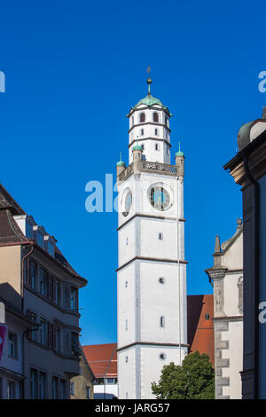 Blaserturm in Ravensburg - Stock Photo