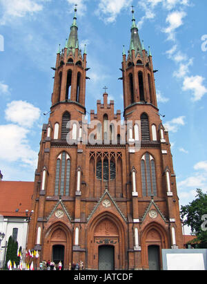 Cathedral Basilica of the Assumption of the Blessed Virgin Mary, Bia?ystok, Poland Stock Photo