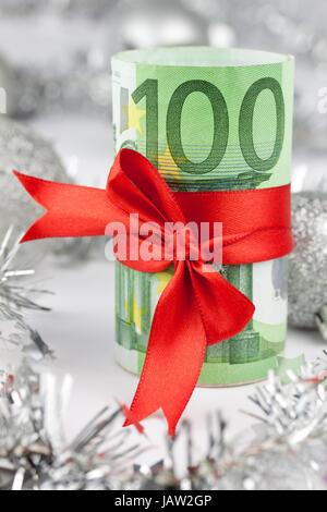 x-mas euro - Stock Photo