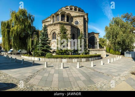 St Nedelya Church in Sofia, Bulgaria - Stock Photo
