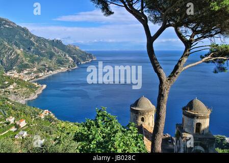 Amalfi Kueste - Amalfi coast 01 - Stock Photo