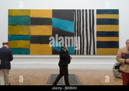 Royal Academy of Arts, London, UK. 8th June, 2017. Over 1200 works on display in the largest open submission exhibition - Stock Photo