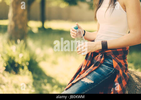 Festival summer woman outdoors